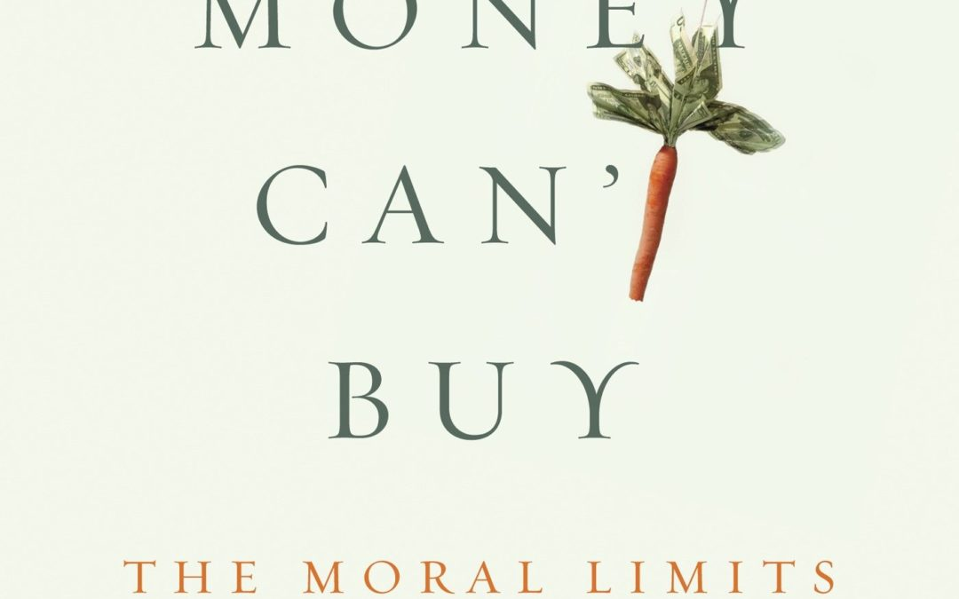 • Rediscovering business ethics with M. J. Sandel
