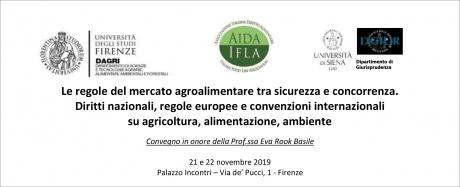 • Dove sta andando il diritto agroalimentare